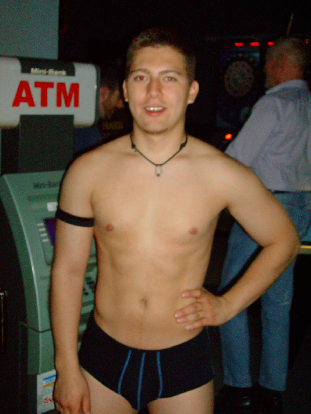 gay male pleasuring self