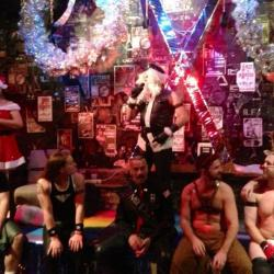 Xmas at eXile / Santa, Mr. eXile 2013, IML Woody