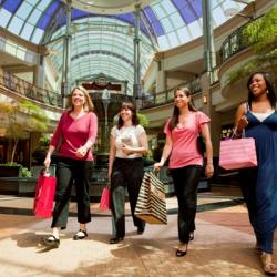 Shopping at the King of Prussia Mall