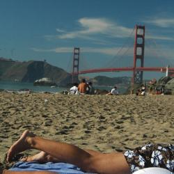 San francisco gay beach