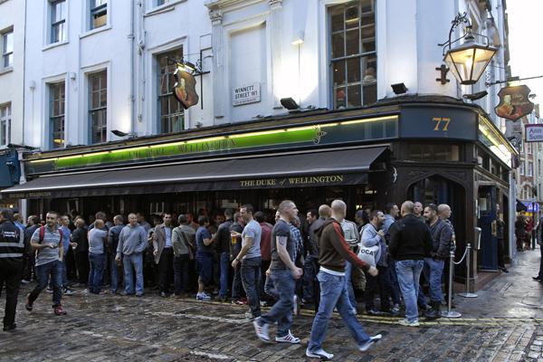 Gay cruise bar london