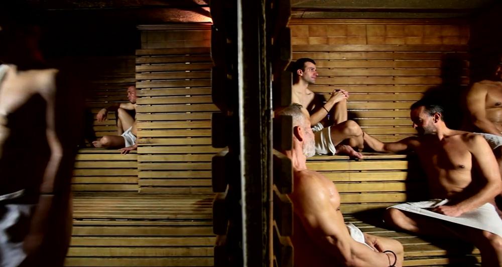 где собираются геи в бане на мужества