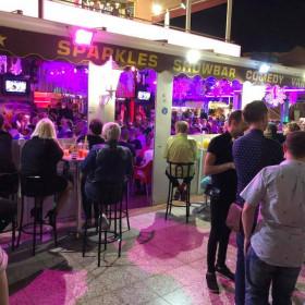 Sparkles Show Bar